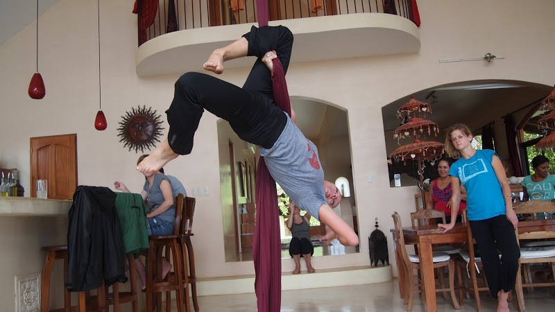 Travel | Aerial Silks Workshop at Anamaya Resort in Costa Rica