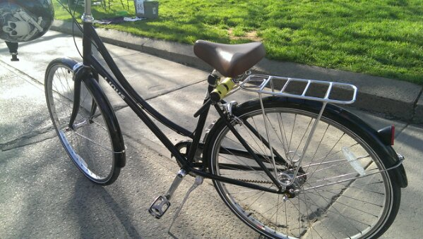 Linus Dutch Bike from @bikesonwheels #HTCone