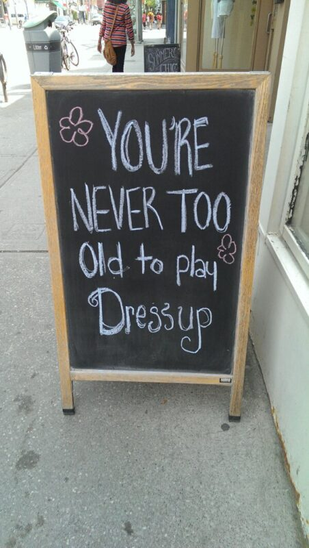 You're Never Too Old to Play