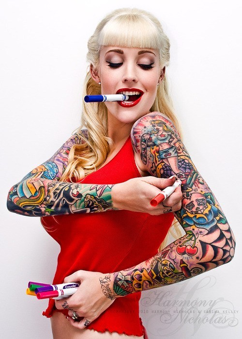 Girls With Tattoo
