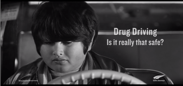 Drug Driving Ad from New Zealand