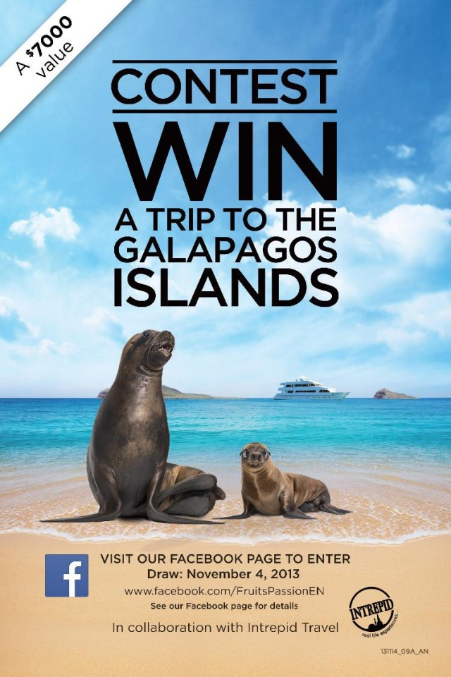 Win a Galapagos Adventure! #LookBEYOND