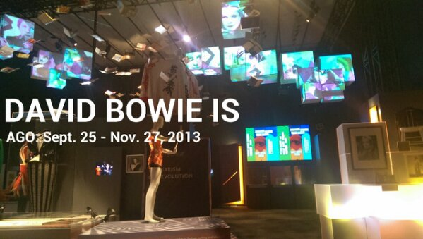 'David Bowie Is' at AGO. I saw him!