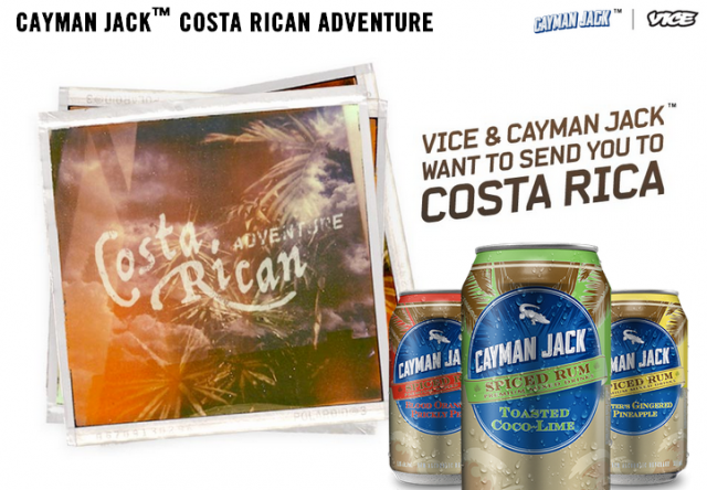 VICE TRAVEL CONTEST + COSTA RICAN ADVENTURE