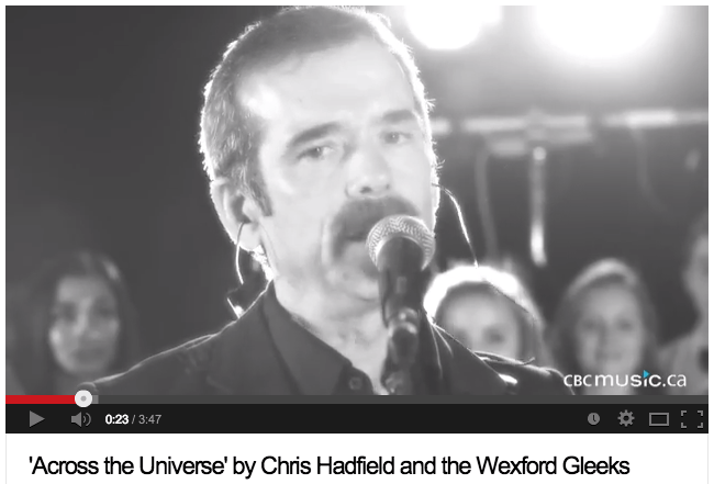 'Across the Universe' by Chris Hadfield