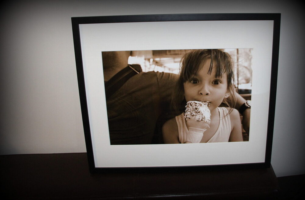 Emily Ice Cream via @casiestewart #thisismylife #canonblogtography