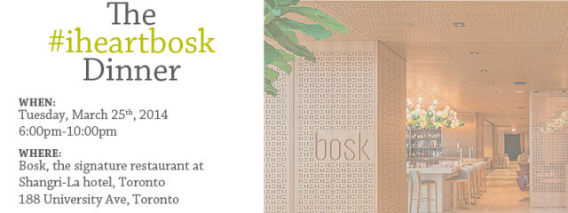 WIN IT: High Tea at the Shangri-La |  #iheartbosk Dinner