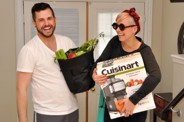 On this ep. of #CookingwithCuisinart we're JUICING! I've been loving my juicer since we filmed. Watch the video, leave your juice recipes in the comments!