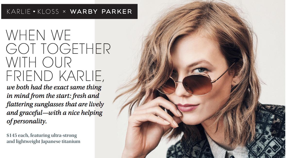 Karlie Kloss X Warby Parker   OMG SHE KNOWS ME!