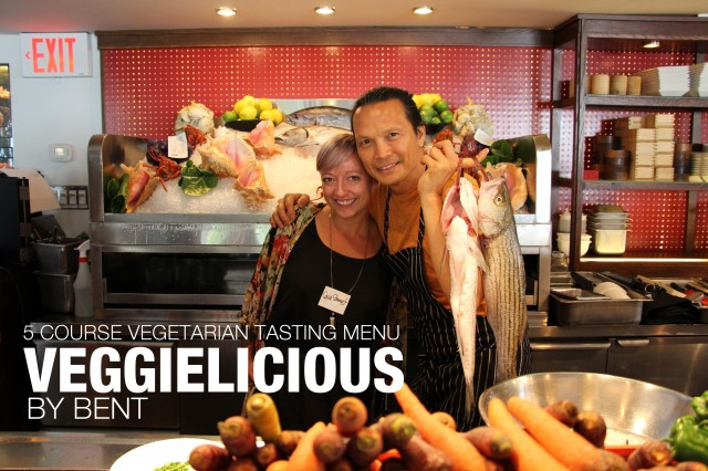 VEGGIELICIOUS by Bent Sept. 9-20th, 2014 w/ @susurlee