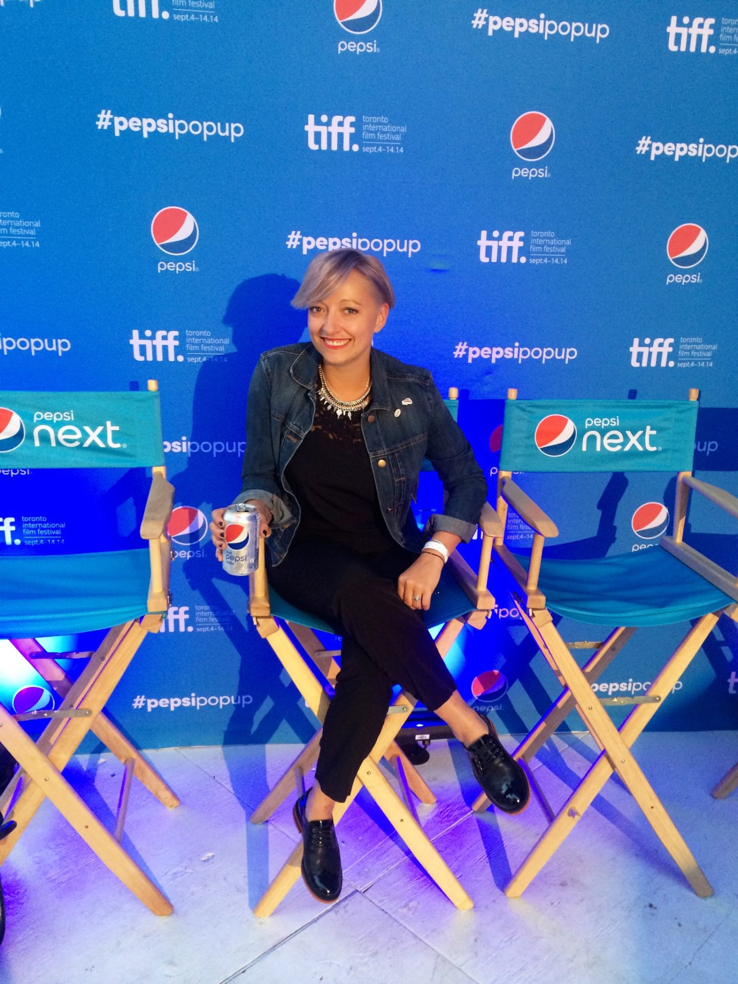 Live for now.  #PepsiPopUp