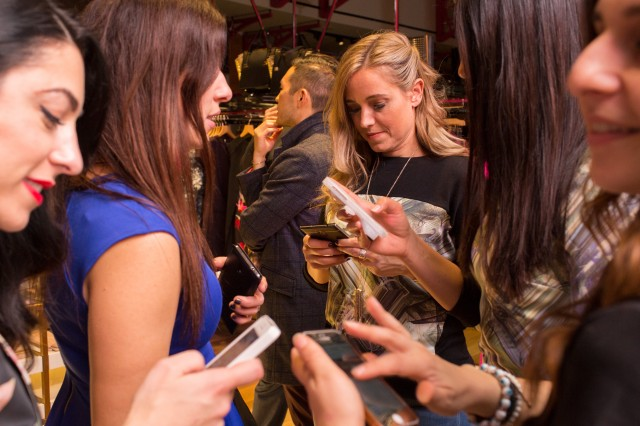 TED BAKER EATON CENTRE STORE OPENING- Oct 2014 (Katherine Holland)