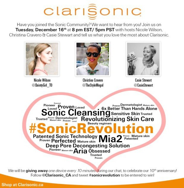 My Clarisonic Experience + Details for Chat Next Week
