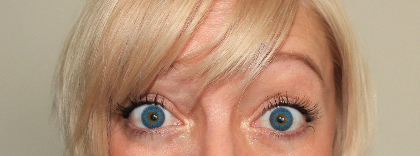 blue eyed baby new air optix color contacts casie stewart