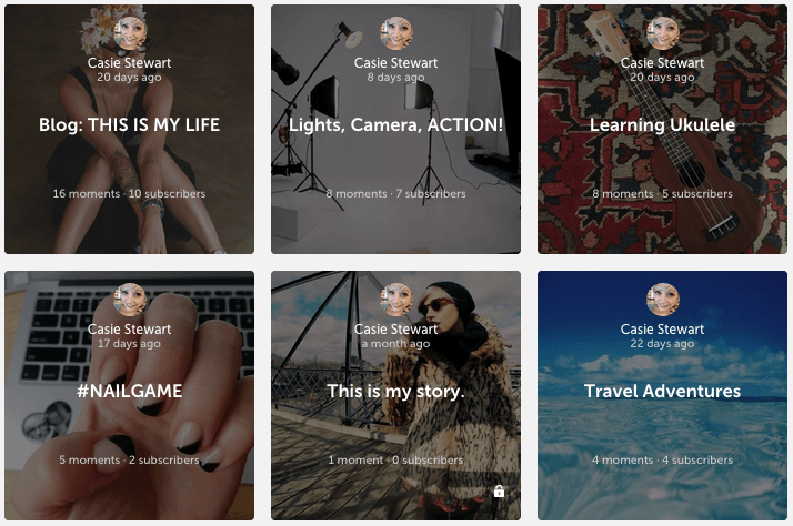 Storia App: Keep, Share, Collaborate on Stories