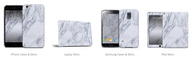 Marble laptop skin, Marble iPhone case