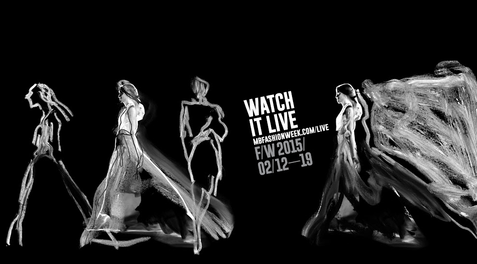 The Official NYFW stream! Today's Shows, Right Here