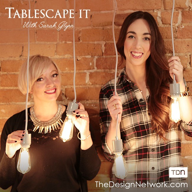 Watch Me Tablescape It on The Design Network!