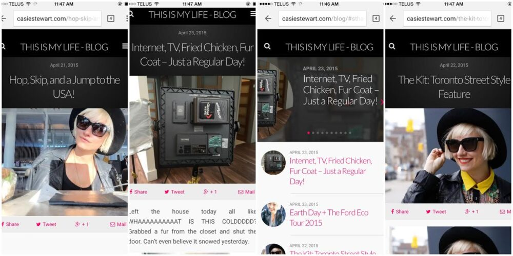 A Blog Post About Blogging for Bloggers – WP 4.2, Mobile