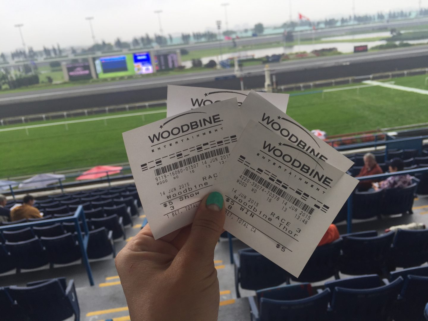 Off to the Races! Woodbine Oaks at  Woodbine Racetrack