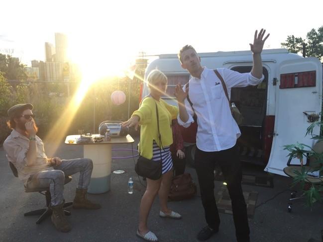 Lovin' the Crew – Tourism Calgary Arts & Culture Trip