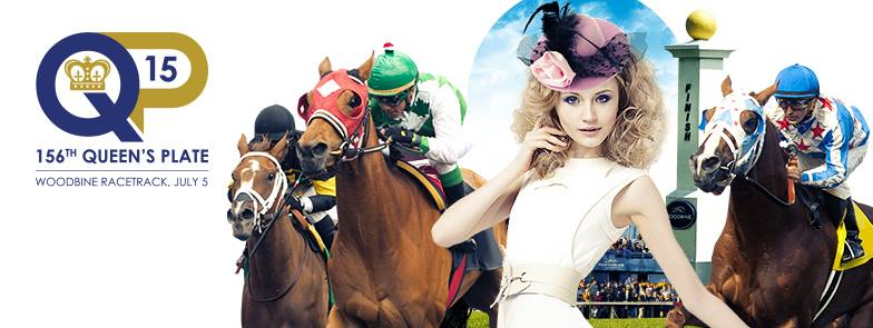 156th Queen's Plate is THIS WEEKEND at Woodbine Racetrack! #OffToTheRaces #QP15