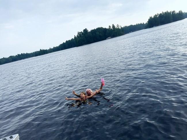 Muskoka Living: Lake, Boat, Babes, Dock, Drinks #cottagelife