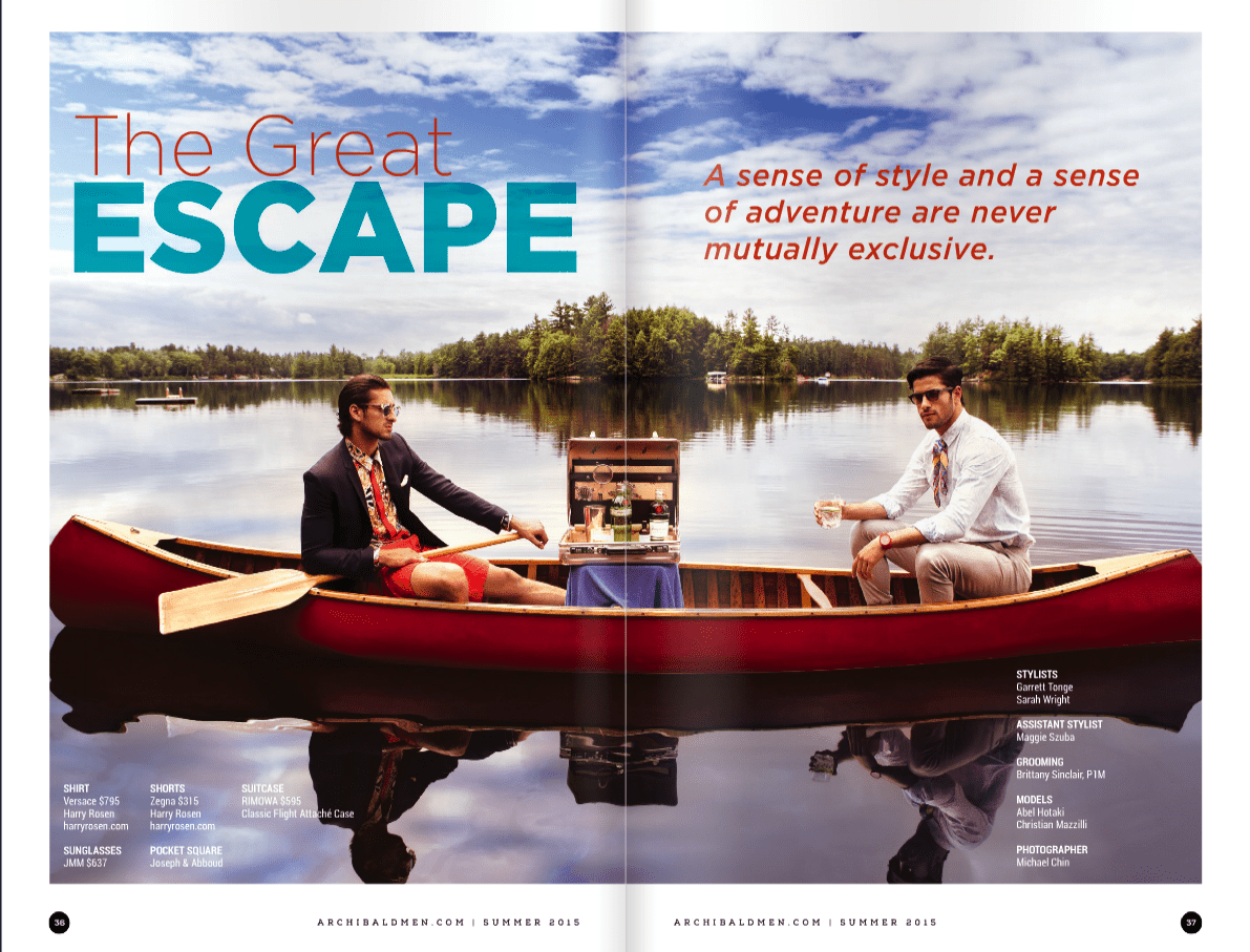 Fashion + Travel | The Cottage in A Mens Men Magazine