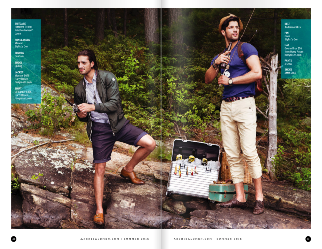 Fashion + Travel | The Cottage in Archibald Men Magazine