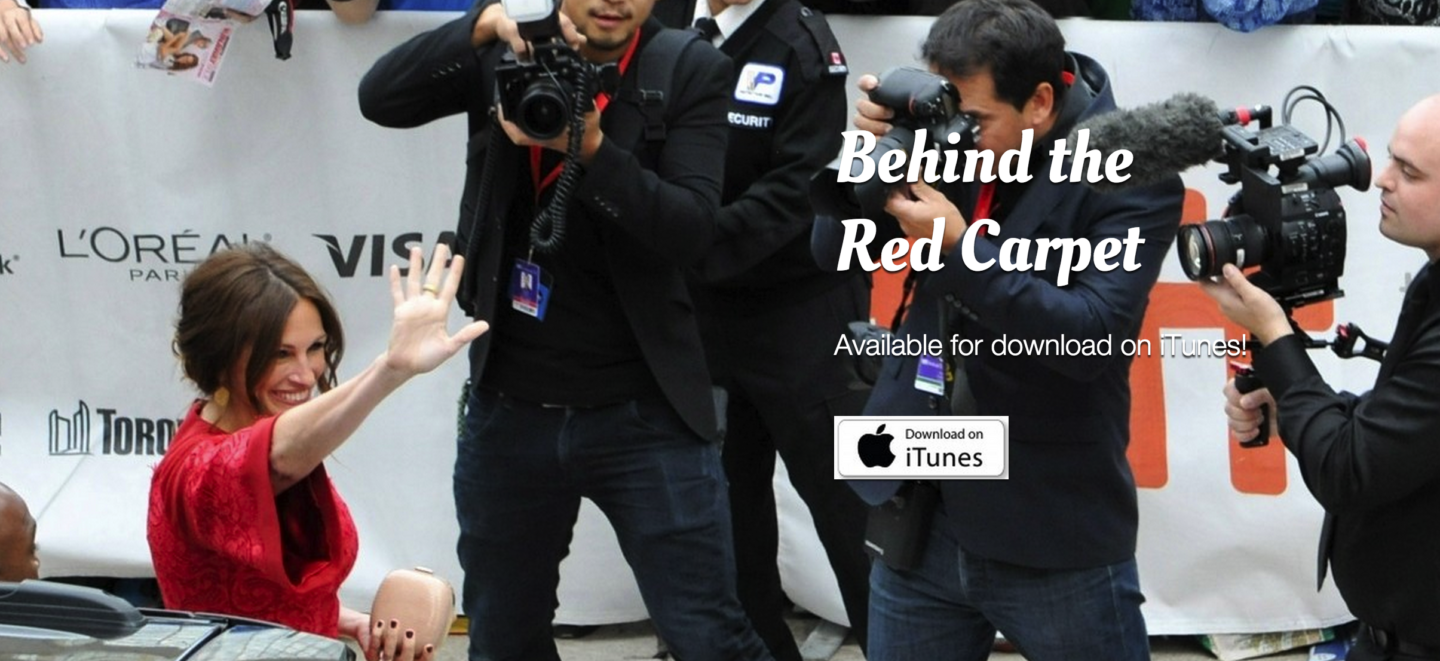 Behind the Red Carpet is Now on Amazon & Vimeo!