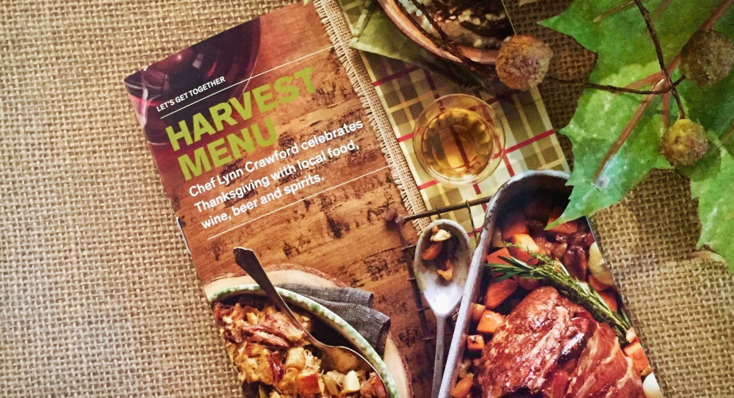 Events | LCBO's Harvest Menu w/ Love for Local w/ Chef Lynn Crawford