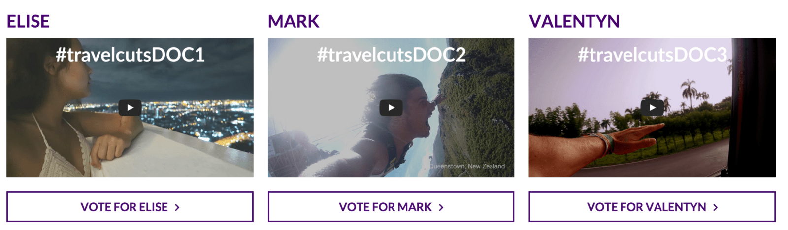 Travel | Travelcuts DOCUMENTARY Finalists –  Vote for Your Fav