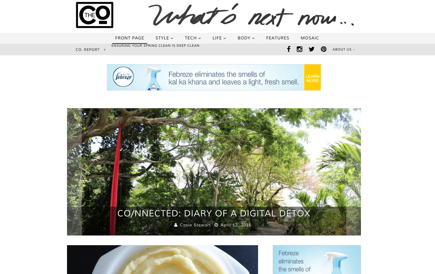 Travel   My Digital Detox Diary on The Co.