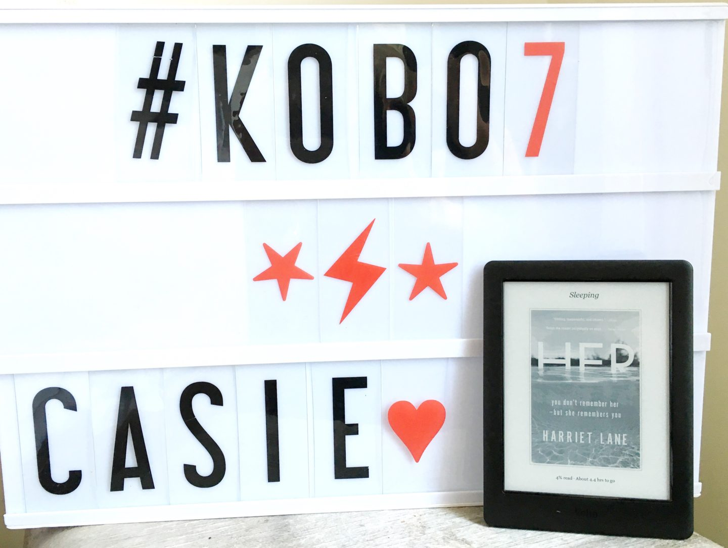 Kobo 7-Day Reading Challenge