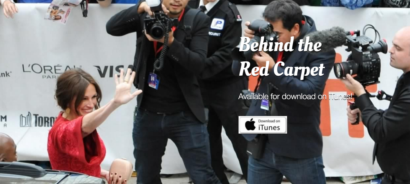 Watch 'Behind the Red Carpet' on The Hollywood Suite Network