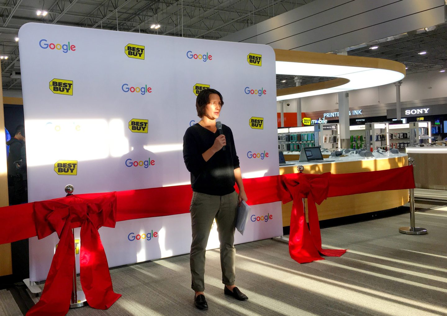 Visiting the Google Shop within a Shop + $250 Best Buy Giveaway