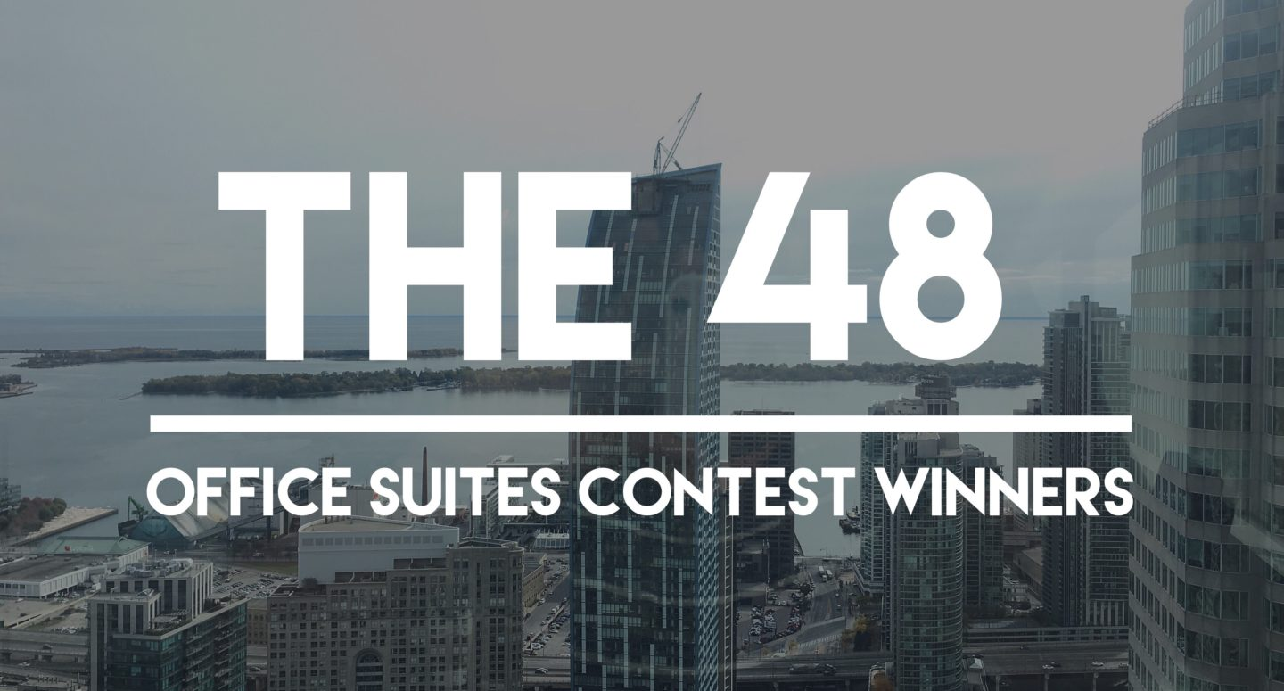 Winners of The 48 Giveaway – See You at The Office!