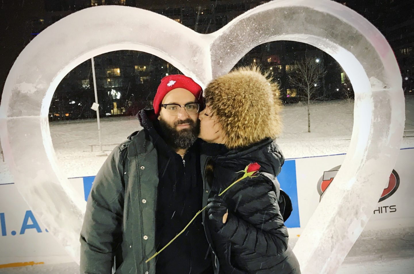 Valentines Day Skating + Love ❤️ The #CityPlaceRink is OPEN!