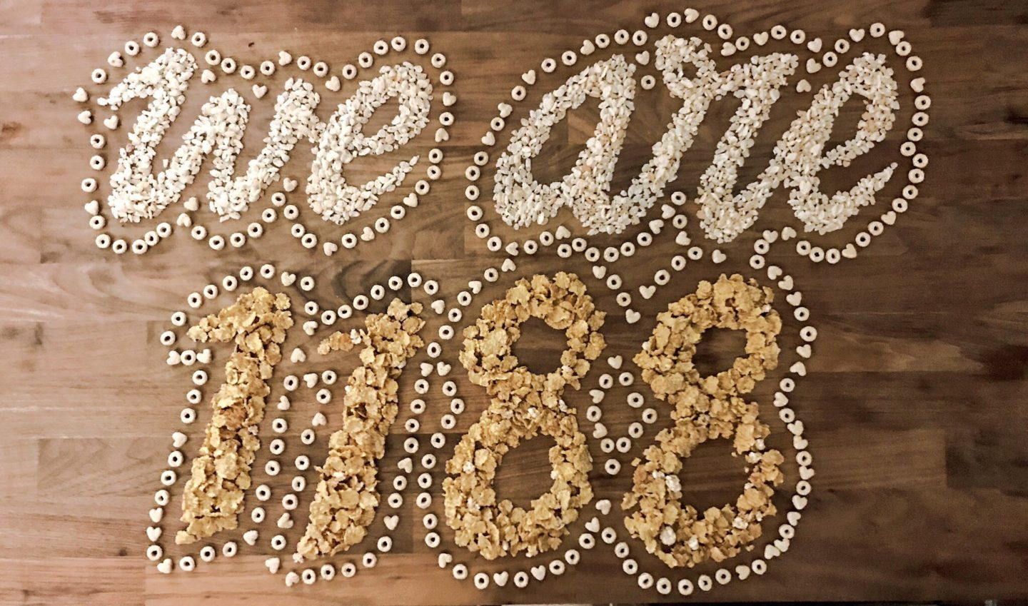 CEREAL KILLERS! Creative Typography at @weare1188