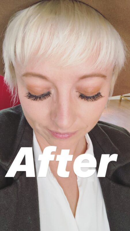 ardell magnetic lashes, casie stewart