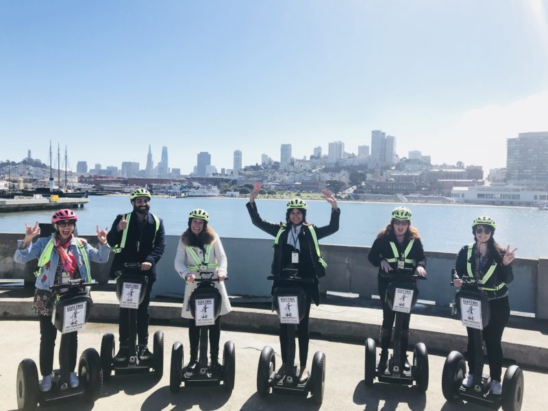 San Francisco Guided Segway Tours, SF travel, travel SF, san francisco, casie stewart, travel blogger, segway, downtown san francisco