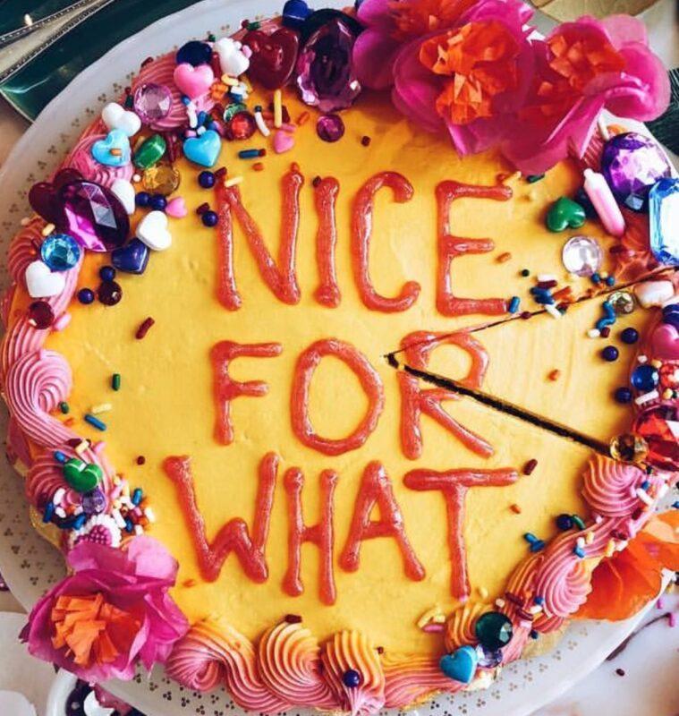 DRAKE ON A CAKE, DRAKE CAKE, NICE FOR WHAT, CASIE STEWART, CASIE, BLOGGER, INFLUENCER