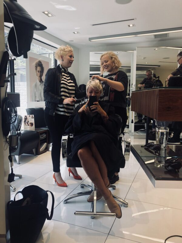 casie stewart, sassoon, blonde, toronto blonde, blogger, sassoon, matte pr