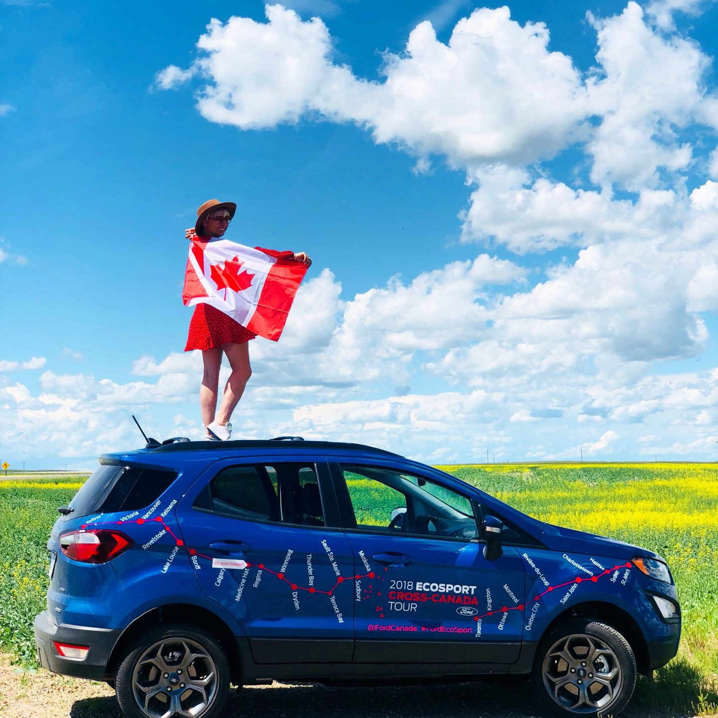 Ford EcoSport Cross Canada Tour