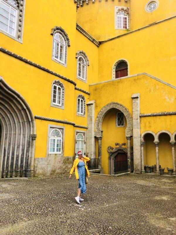 pena palace, casa do valle, sintra, casiestewart, aeroplan, travel blogger, sintra, portugal