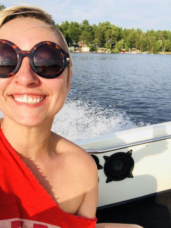 casiestewart, cottage, boat, muskoka