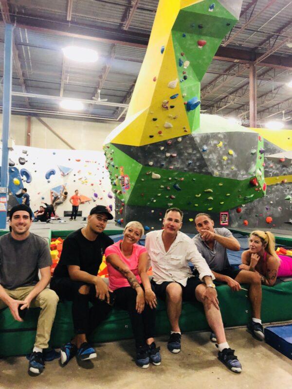 hub climbing, casie stewart, toronto, blogger, influencer, rock climbing