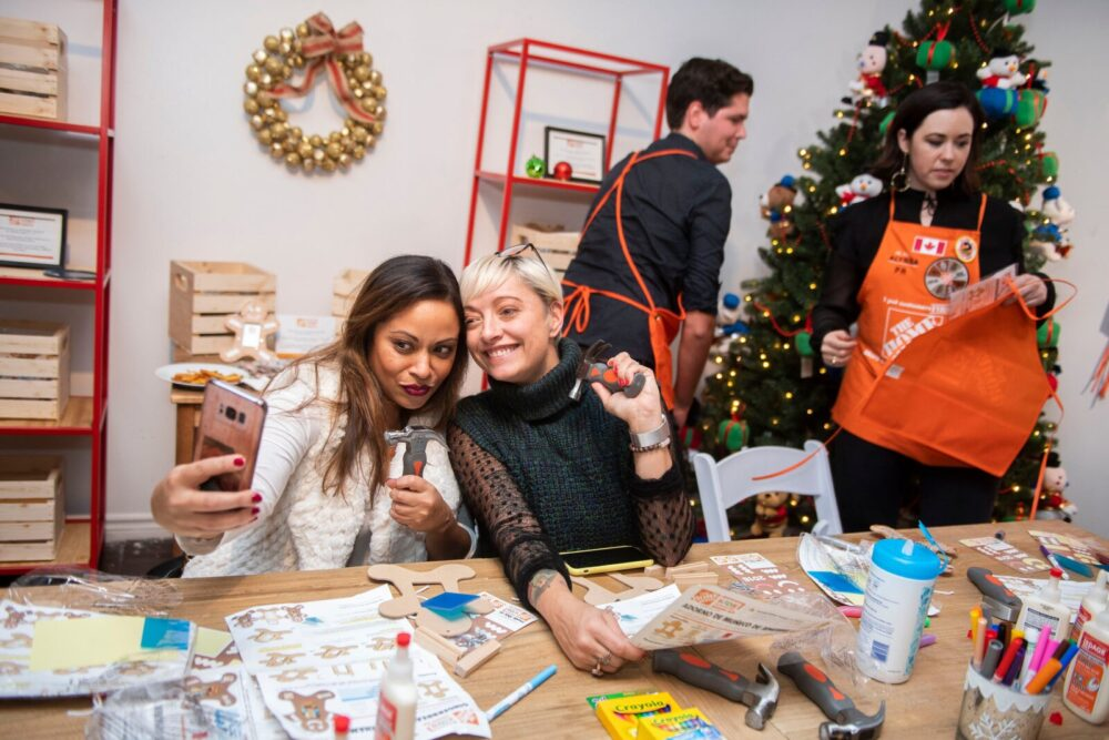 casie stewart, holidays, christmas, home depot,