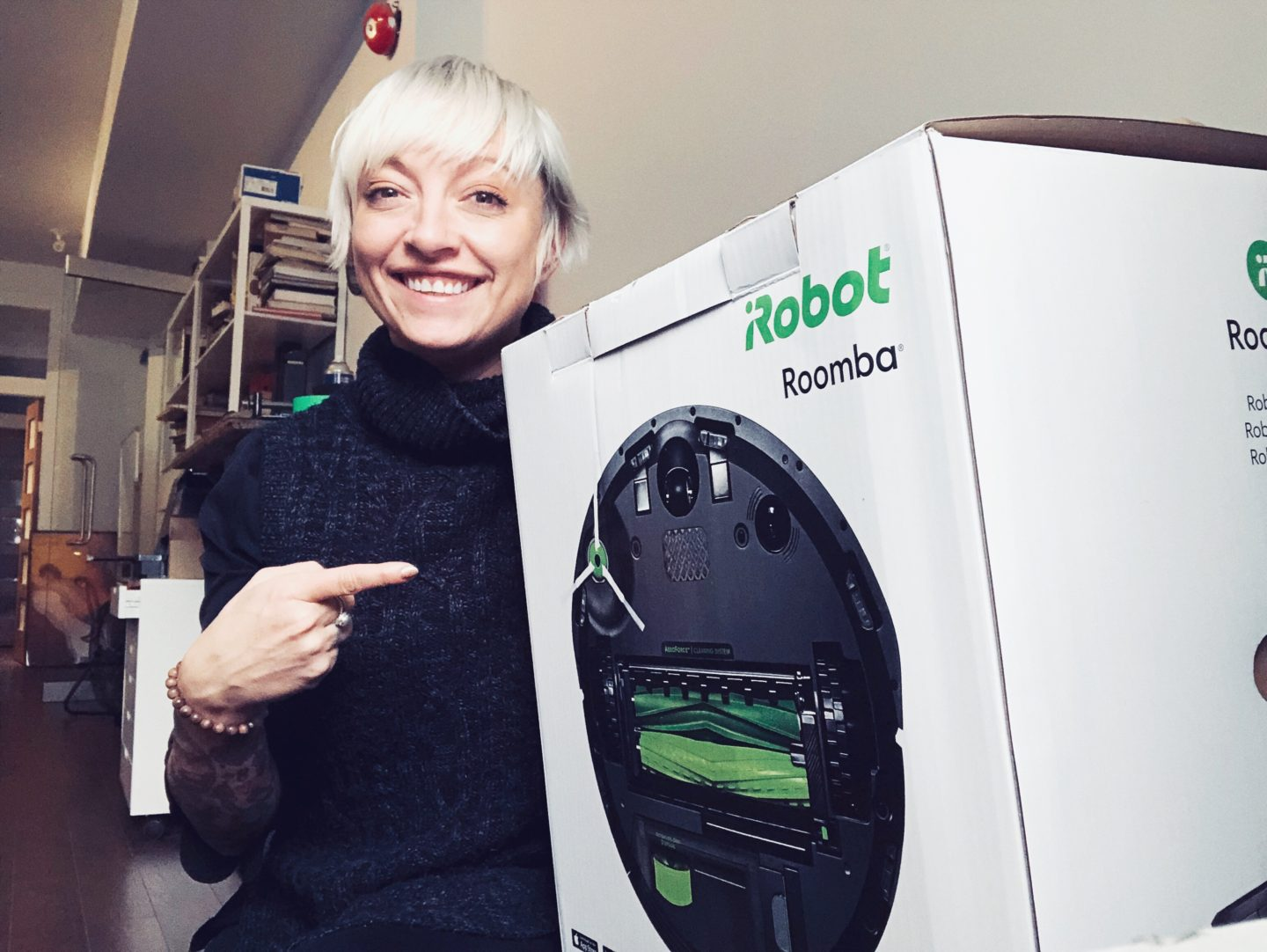 casie stewart, roomba, toronto, review, tech, blogger
