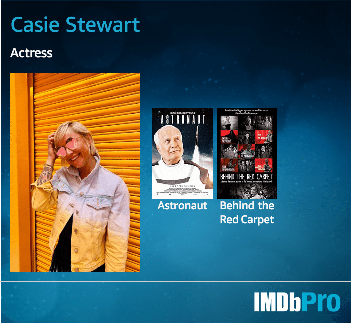 Casie Stewart, Actress, IMDB